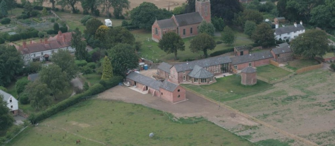 Manor Farm arial